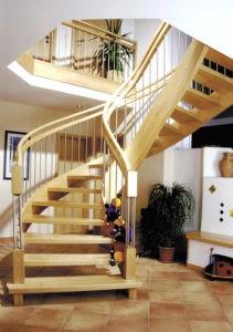 Wangen-Treppe Halbrund
